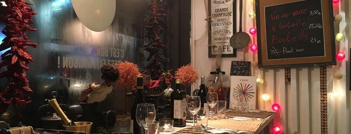 Mémé Café is one of Brusselicious.