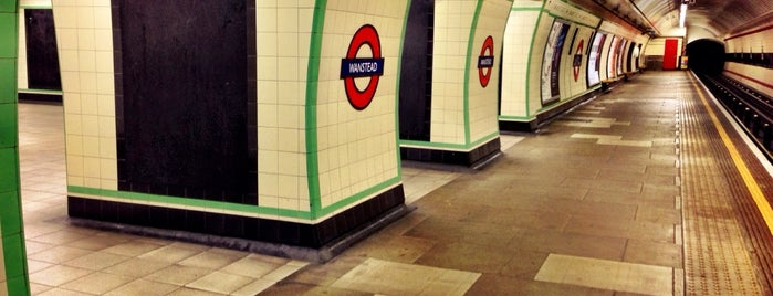 Wanstead London Underground Station is one of Tube Challenge.
