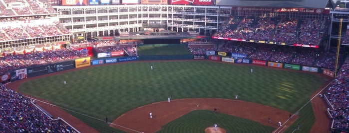 Globe Life Park in Arlington is one of The Great American Road Trip.
