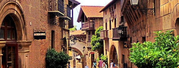 Poble Espanyol is one of Barselona.