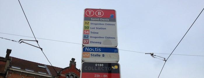 Saint-Denis / Sint-Denijs (STIB / MIVB) is one of MIVB/STIB.