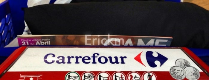 Carrefour is one of Madrid.
