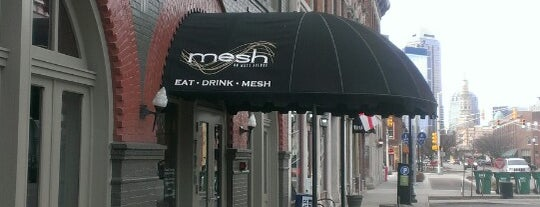 Mesh is one of Places to eat in INDY.