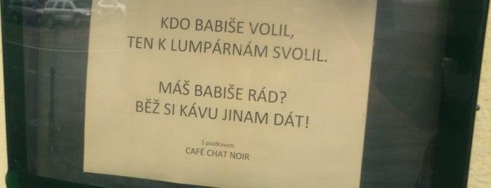 Chat Noir Café is one of Cafés.