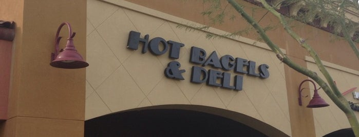 Hot Bagels and Deli is one of Things that might be okay out here..