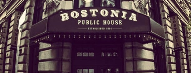 Bostonia Public House is one of Boston.