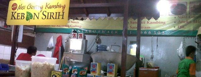 Nasi goreng kebon sirih is one of nyam!.
