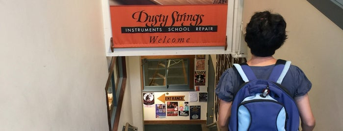 Dusty Strings is one of Seattle Destinations.