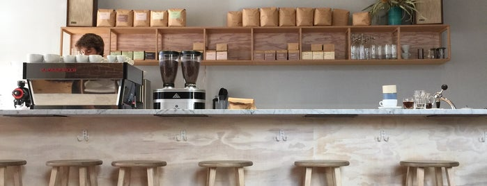 Elm Coffee Roasters is one of The 15 Best Coffee Shops in Seattle.