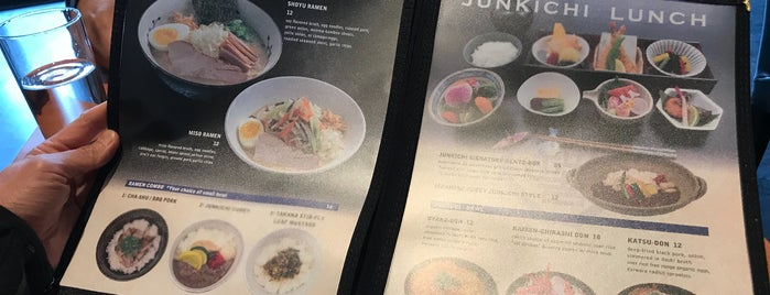 Junkichi Robata Izakaya is one of The 15 Best Places for Facials in Seattle.