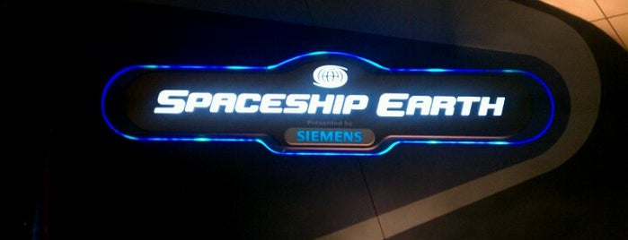 Spaceship Earth is one of Walt Disney World - Epcot.