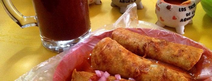 """Cochinita Pibil """"Los Tacos De La Abuela"""" is one of baba's places."""
