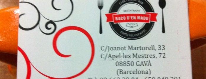 Raco d'en Madu is one of Restaurantes.