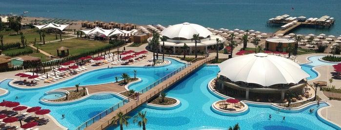 Kaya Palazzo Golf Resort is one of Oteller.