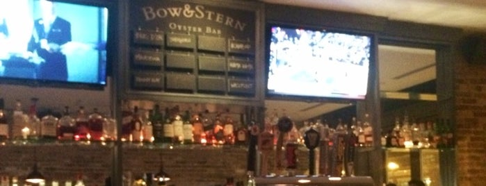 Bow & Stern Oyster Bar is one of My new hood.