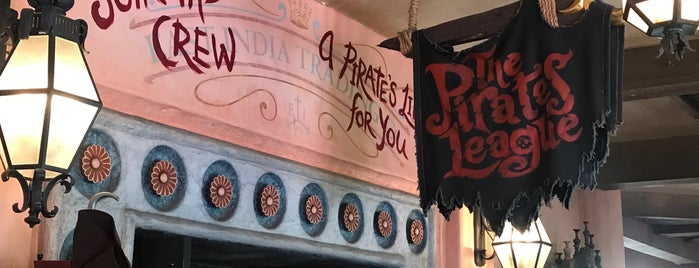 The Pirates League is one of Disney List.