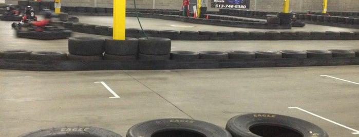 Full Throttle Indoor Karting is one of Cincinnati.