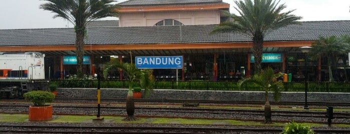 Stasiun Bandung is one of Bandung ♥.