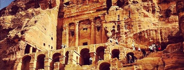 Petra is one of Jordan.
