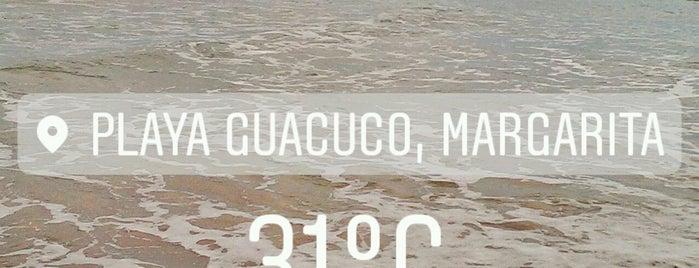 Playa Guacuco is one of margarita.