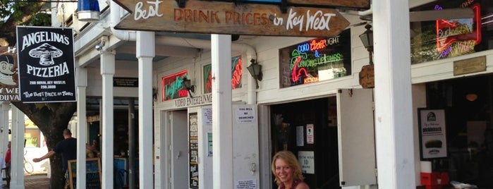 Rick's Bar is one of Key West Cronked.