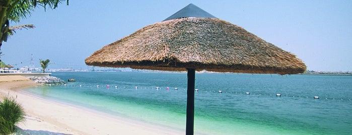 Beach & Pool @ Beach Rotana is one of Abu Dhabi, United Arab Emirates.