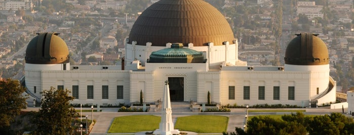 Griffith Observatory is one of Dan's Places.
