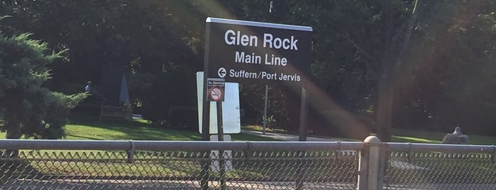 NJT - Glen Rock Main Line Station (MBPJ) is one of Places I been to before in my life.