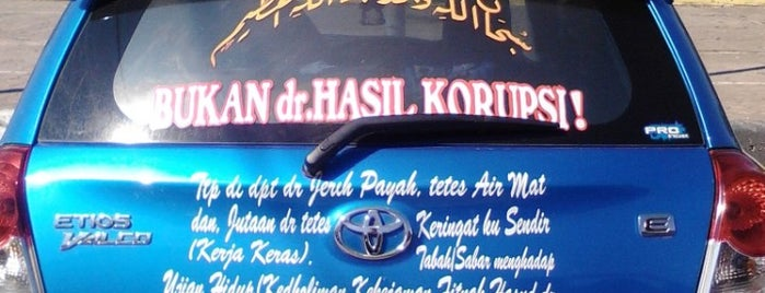 Area Parkir Plaza Pekalongan is one of Pekalongan World of Batik.