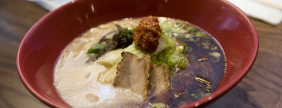 Ippudo is one of Best Ramen Restaurants.