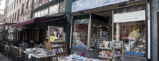 Symposia Community Book Store is one of Hoboken Gems.