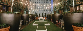 Putt Putt Park at The Hudson Hotel is one of Cool Things To Do on NYC Rooftops.