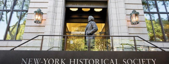 New-York Historical Society Museum & Library is one of NYC Stay-cation.