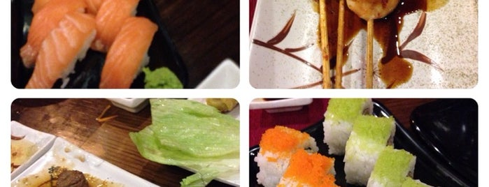 Oku Sushi is one of comidas.