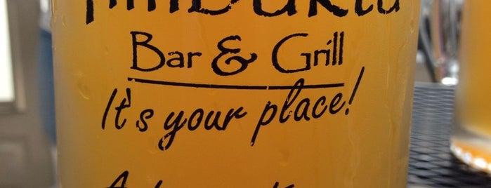 Timbuktu Bar &  Grill is one of 40 Under 40 class of 2013 favorite lunch spots.
