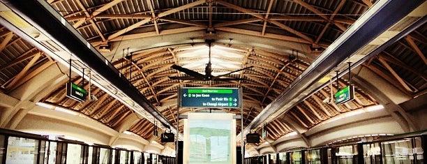 Pioneer MRT Station (EW28) is one of MRT: East West Line.