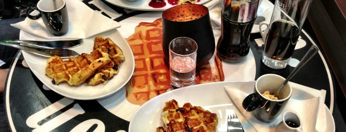 La Maison des Waffles is one of real food.