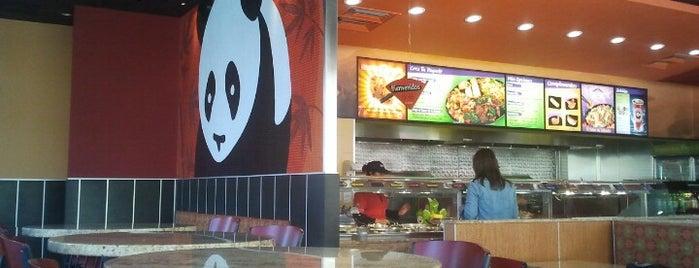 Panda Express is one of El buen comer :P.