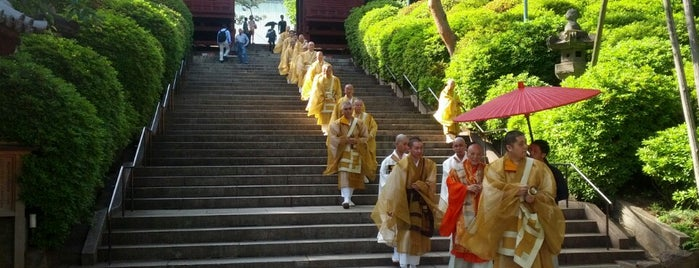 Gokoku-ji Temple is one of 訪れた宗教センター.