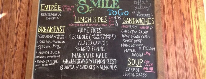 Smile To Go is one of DOWNTOWN food.