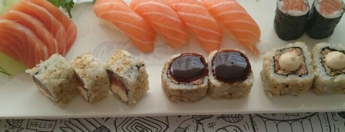 Let'Sushi is one of Guia Rio Sushi by Hamond.