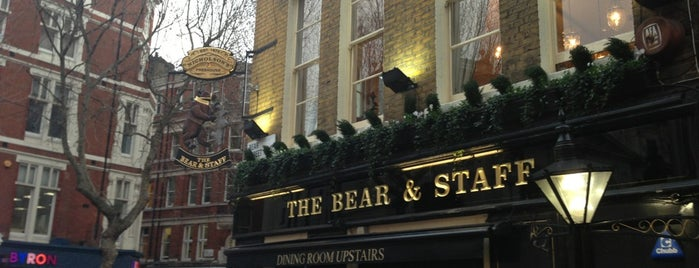 Bear & Staff is one of London.