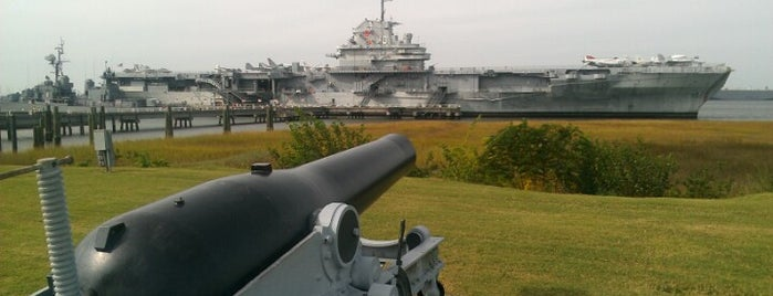 Patriots Point Naval & Maritime Museum is one of my charleston places.