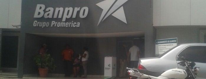 Banpro is one of Sucursales Banpro en Managua.
