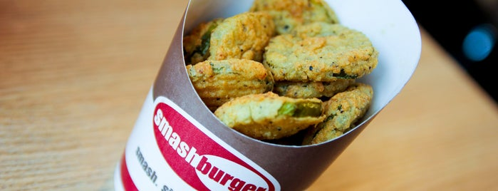 Smashburger is one of D.C.'s Fast Food Style Burgs.
