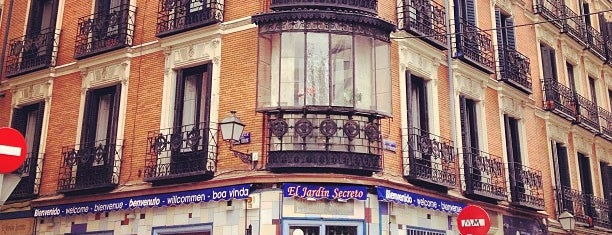El Jardín Secreto is one of Desayunos y meriendas en Madrid.