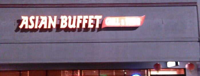 Asian Buffet Grill & Sushi is one of Restaurant To Do List.
