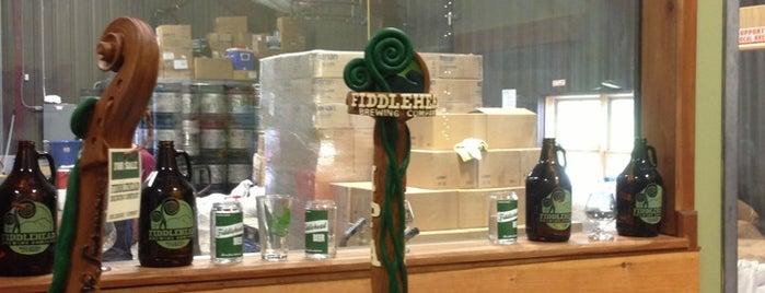 Fiddlehead Brewing Company is one of burlington/killington.