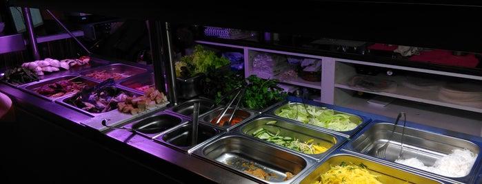 Chap In - Street Food Buffet Restaurant is one of Exotische & Interessante Restaurants In Wien.