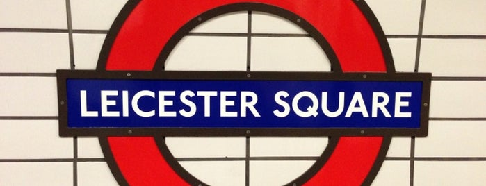 Leicester Square London Underground Station is one of Rail stations.